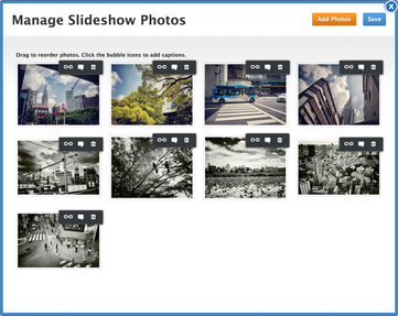 Managing Slideshow Pictures