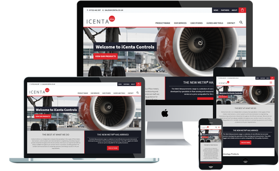 iCenta Controls Responsive Website launched